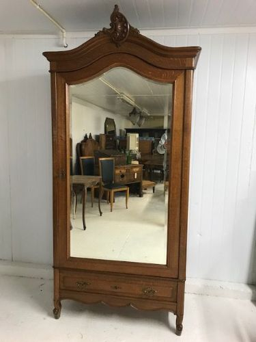 Antique French Armoire - Lower deeper example - ha157